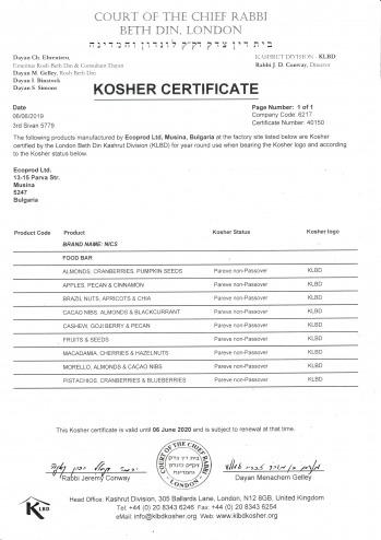Kosher 2019